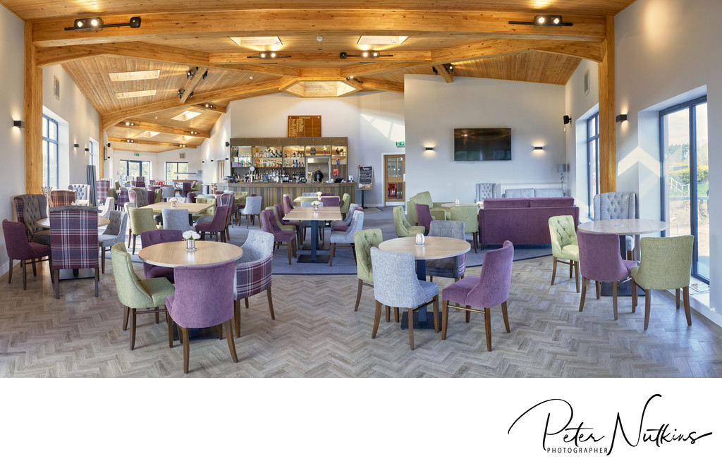 Coxmoor Golf Club Architectural Photographer