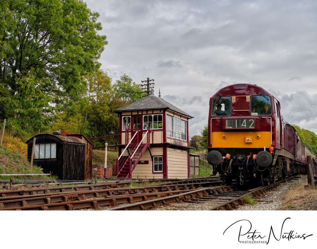 Commercial Photography - Butterley Signal Box