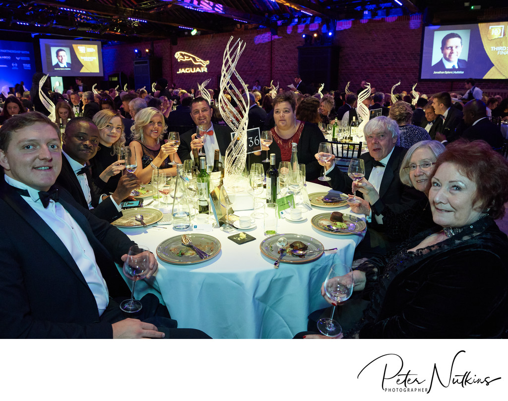 Table Photo at Director Of The Year Awards