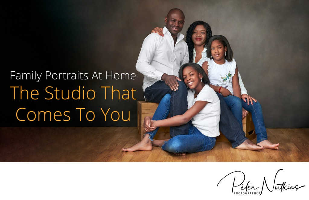 Family Portrait That Photographer Comes To Your Home