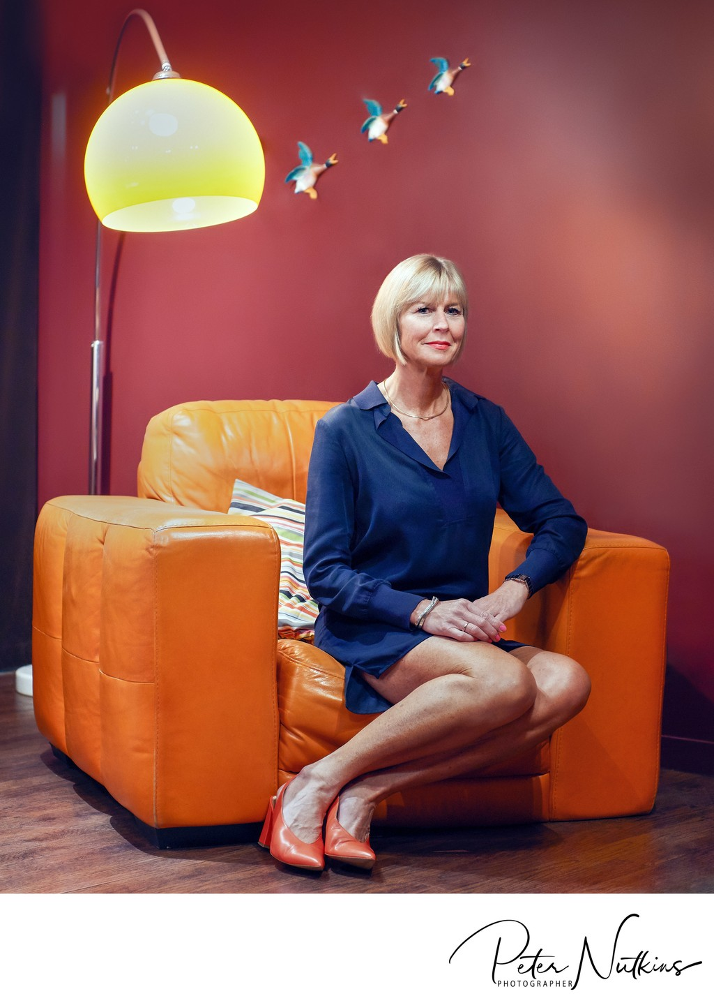 Fiona Thornewill MBE In The Broadway Cinema Lounge