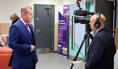 Ian Sackree TV Appearance YMCA Lincoln