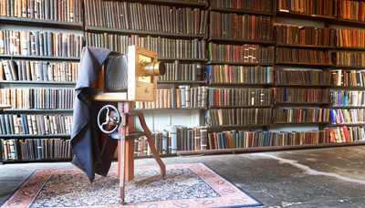 Photography Studio Bromley House Library