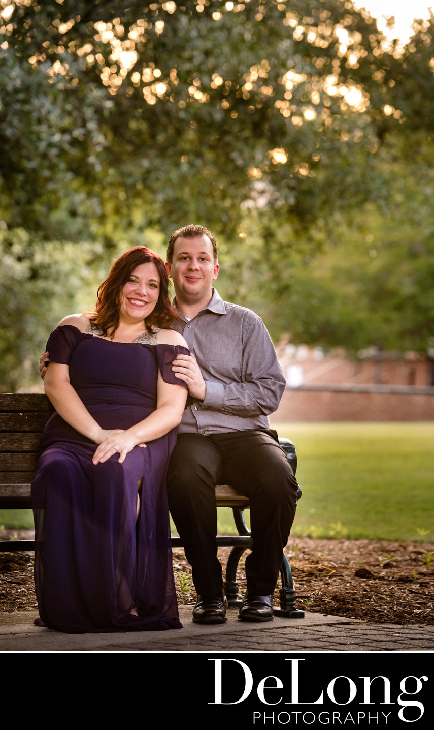 Dazzling Columbia Engagement Photos