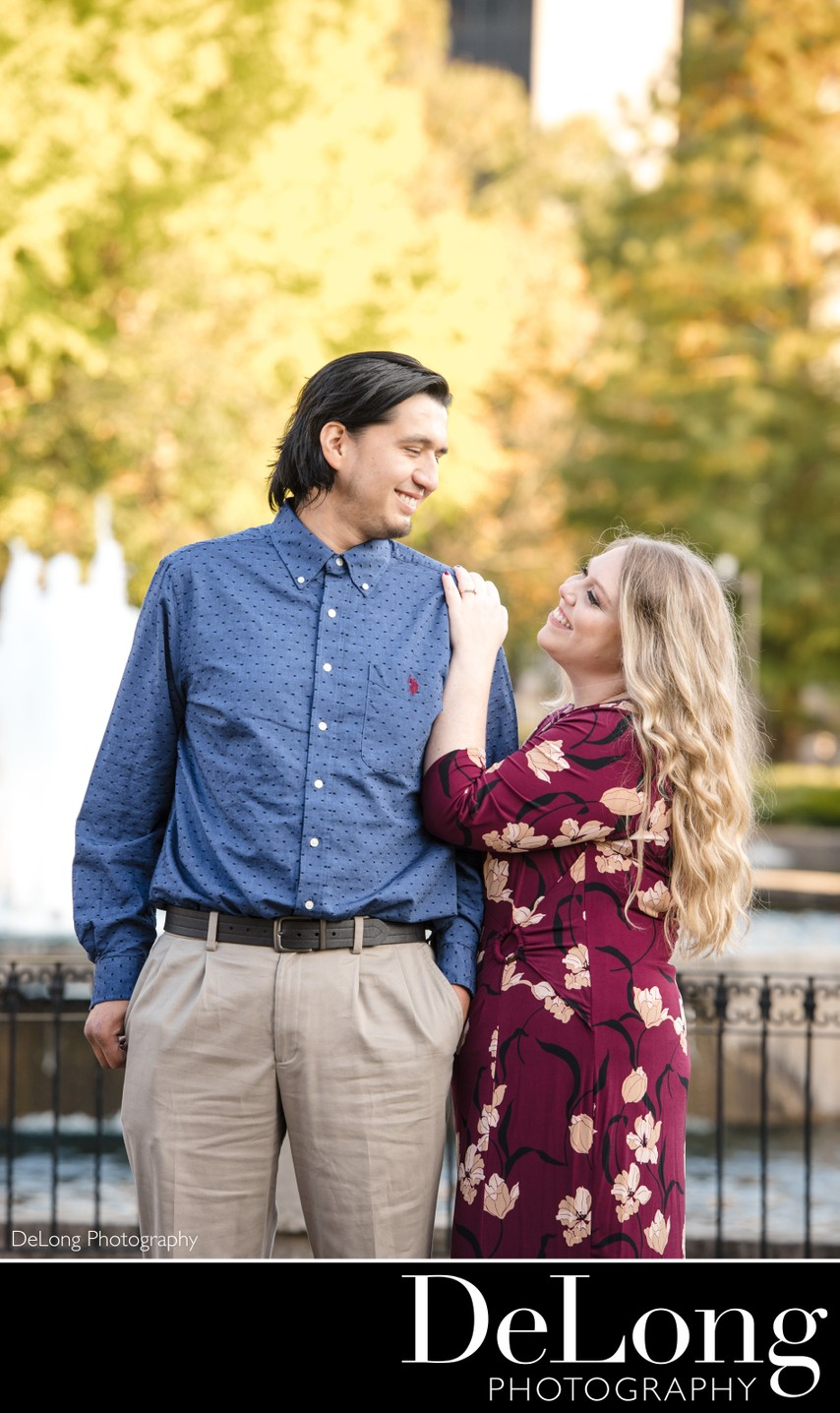 Engagement Photographers in Charlotte NC