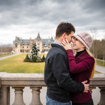 Engagement Photos at the Biltmore Estate
