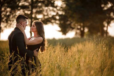 The Best Fields for Engagement Pictures in Charlotte