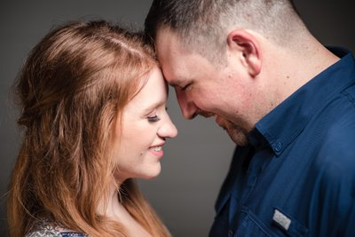 Engagement Pictures in Iron Station, NC