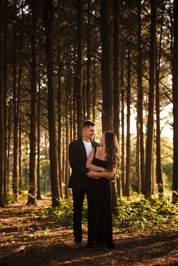 Great Woodsy Engagement Photos