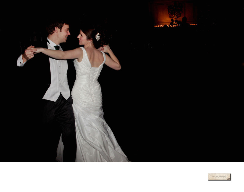 First dance photo at Heatherden House