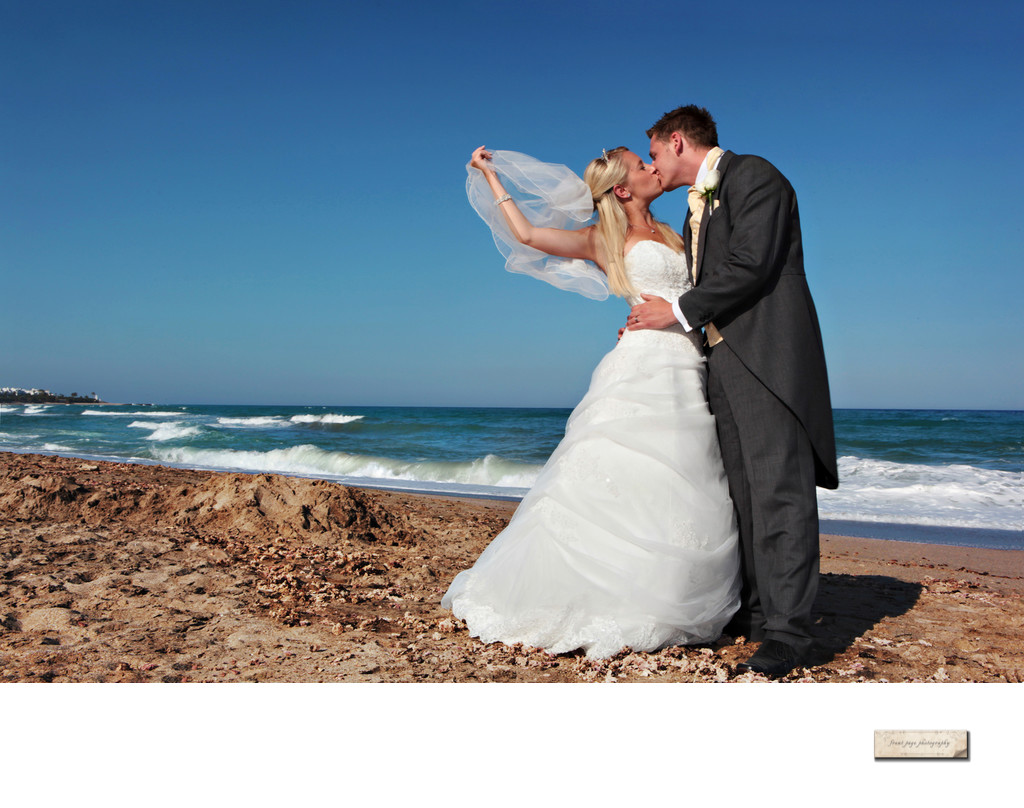 Location wedding photography in Spain