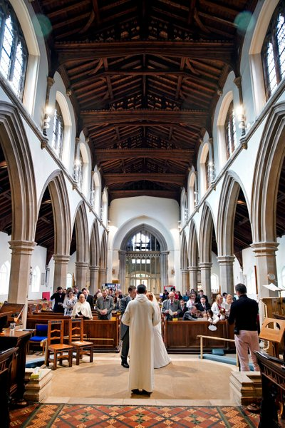 St Marys Rickmansworth wedding