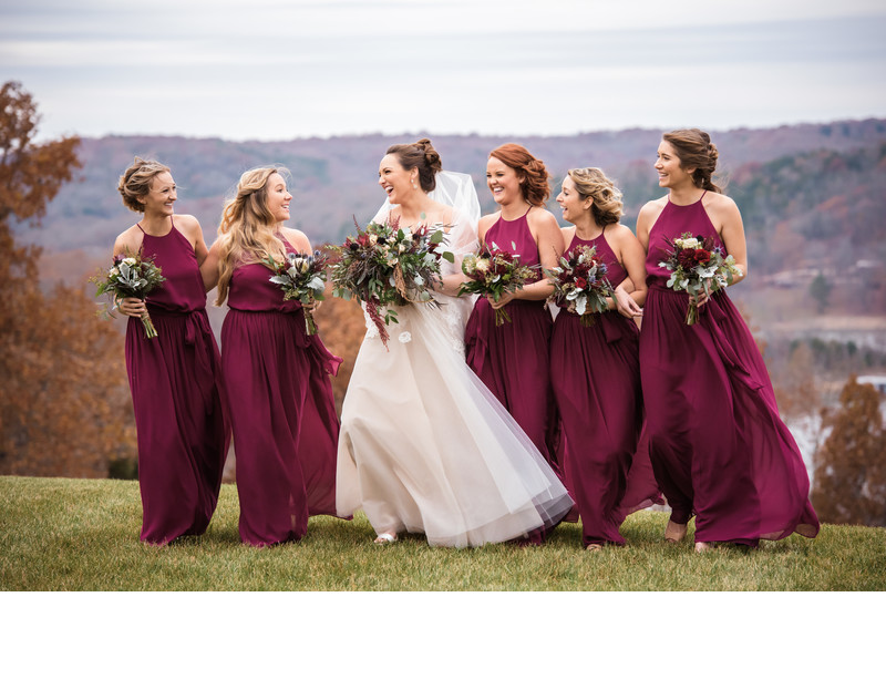 Bridal Party at Integrity Hills