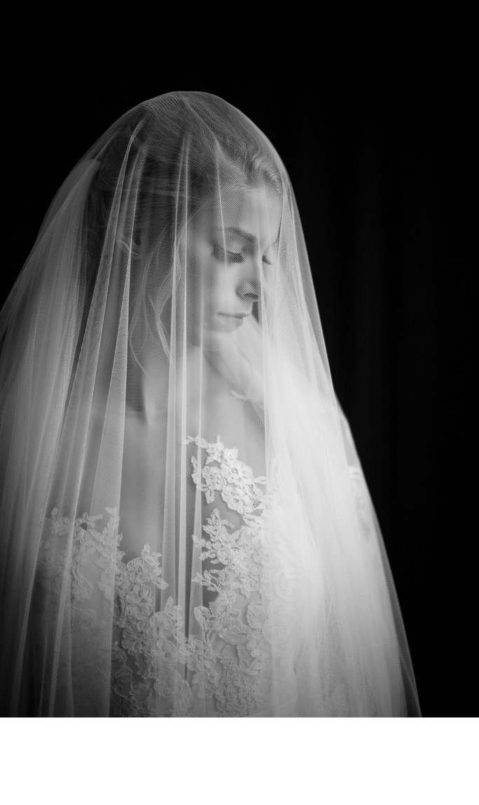 Wedding Veil Picture at Drury Stone Chapel