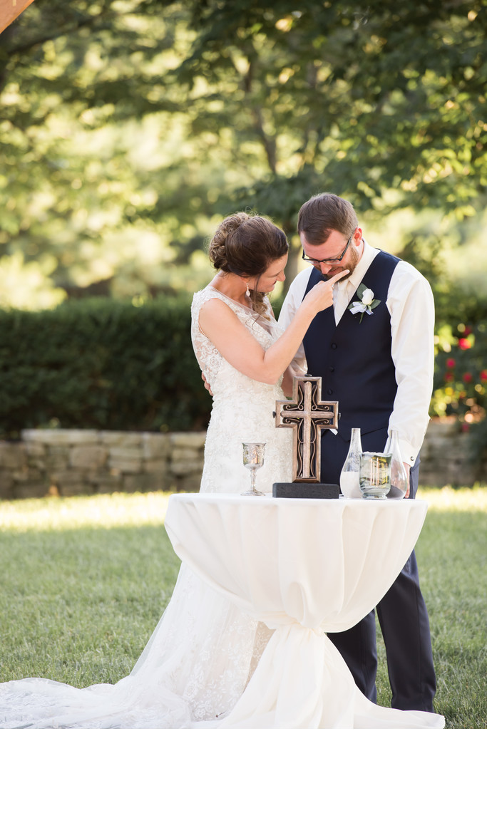 Outdoor Wedding Ceremony in Springfield