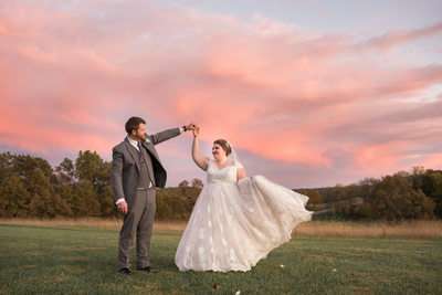Sunset Photos at Gambrel Barn