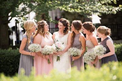 Outdoor Wedding at Haseltine Estate