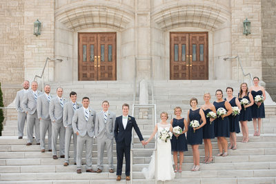 Bridal Party Photos in Springfield