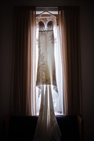 Wedding Dress at Drury Stone Chapel