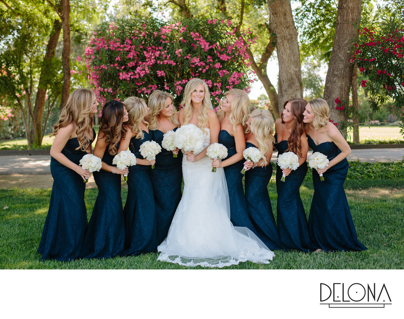 Vista Ranch and Cellars Bridal Party Photography