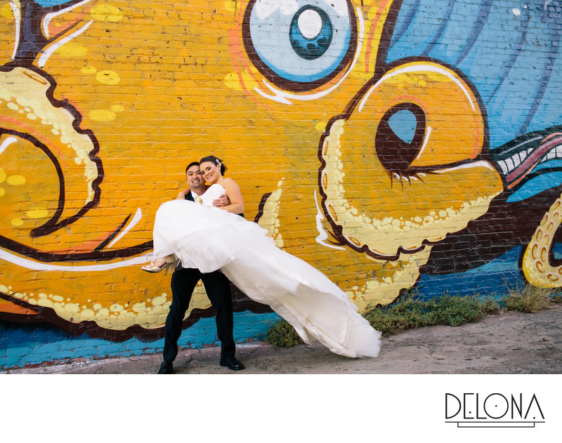 Downtown Fresno Wedding Photographer