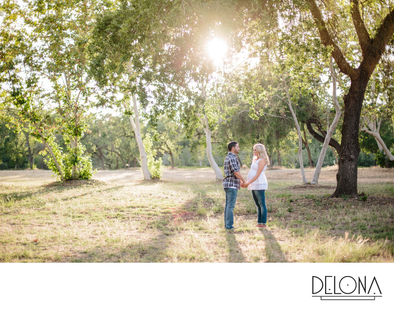 Avocado Lake Sanger Maternity Photography