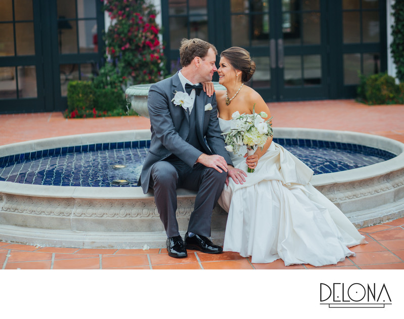 Pebble Beach Country Club Wedding Photo