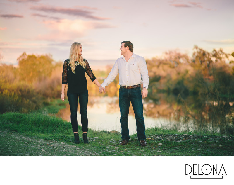 Madera Vineyard Engagement Session Photographer