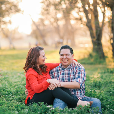 Engagement Pics in Woodward Park Fresno