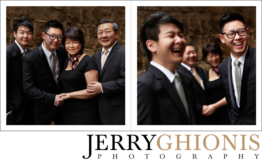Groom Family Portraits