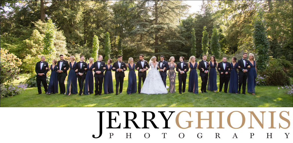 Photos of Large Wedding Party