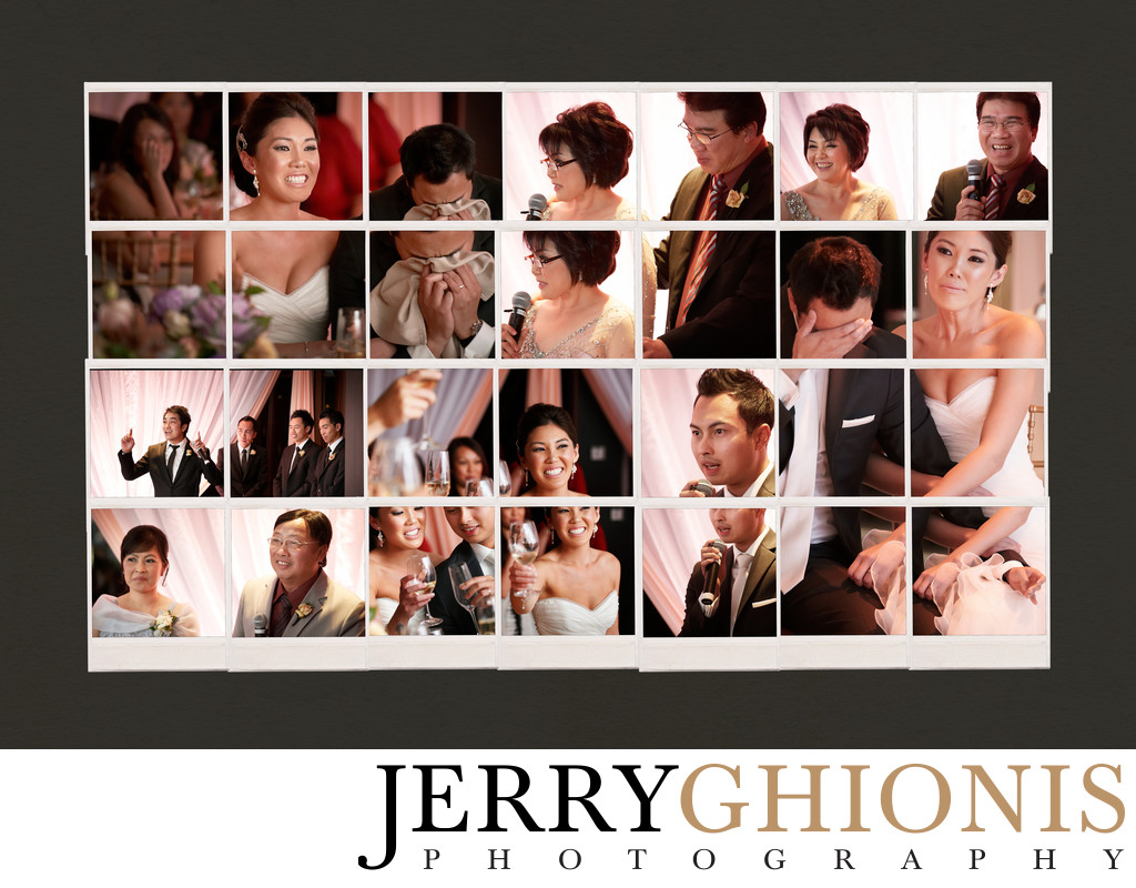 Wedding Reception Photo Montage