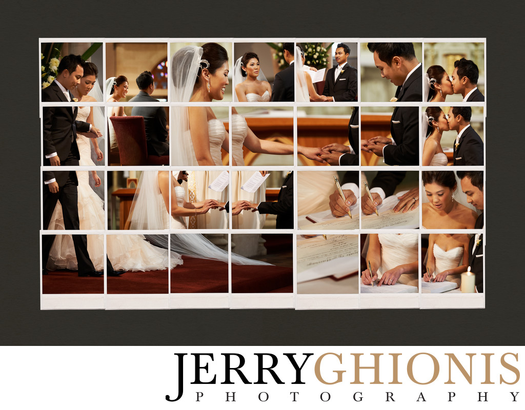 Ceremony Wedding Collage