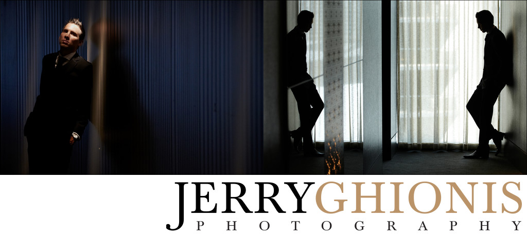 Creative Groom Portraits in Las Vegas