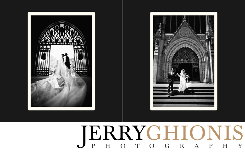 Cathedral Wedding Couples Photos