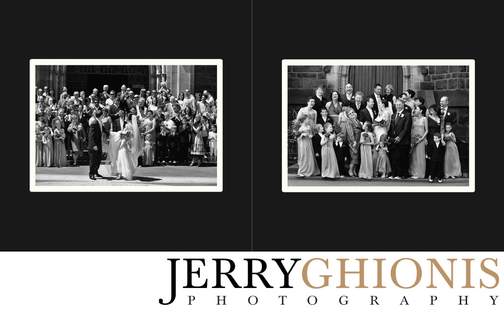 Big Group Photo and Wedding Party Formals