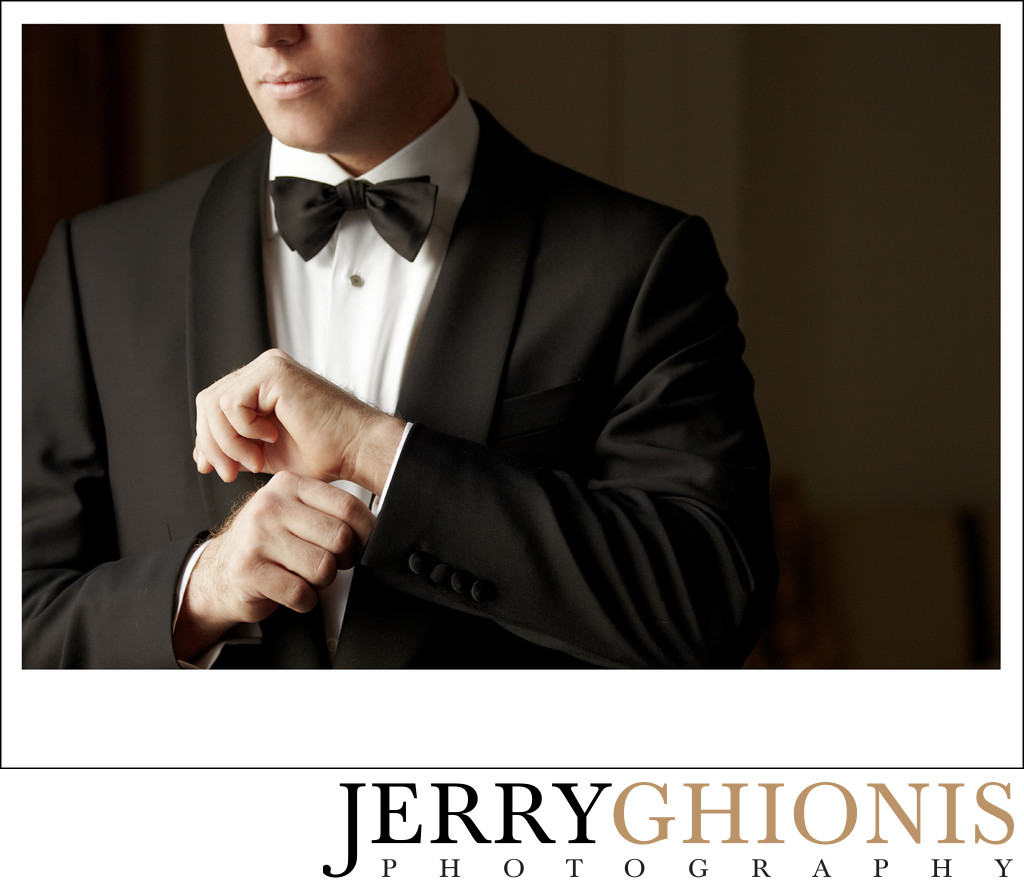 James Bond Style Groom Photos