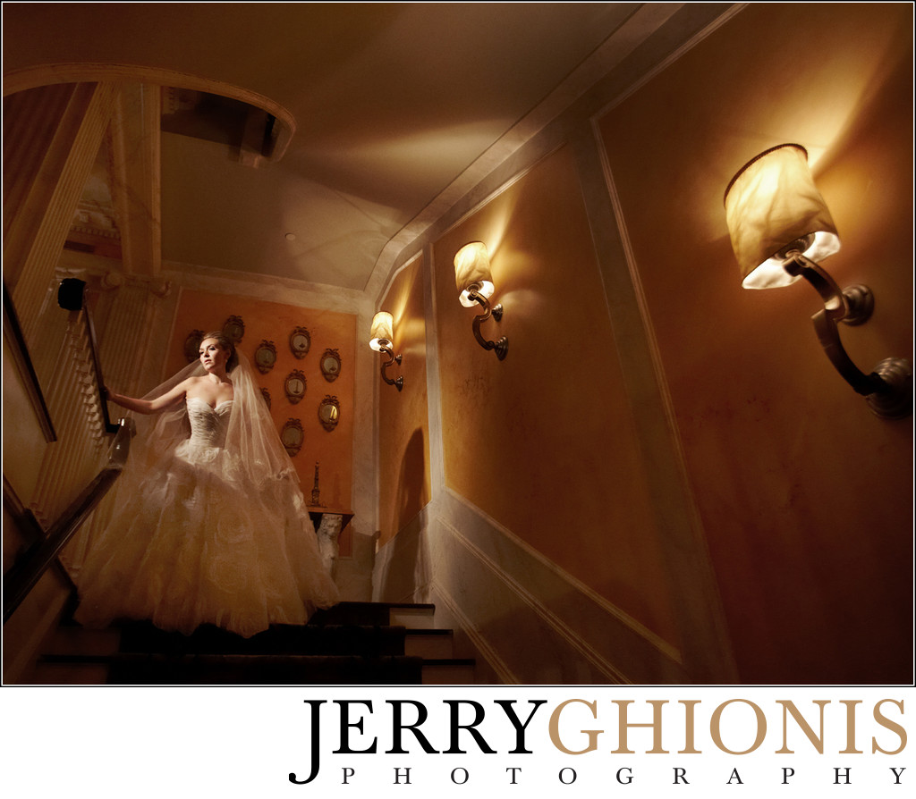 Bridal Portraits in Private Residence
