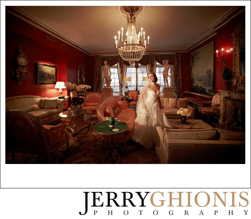 Grand Bridal Portraits in New York City