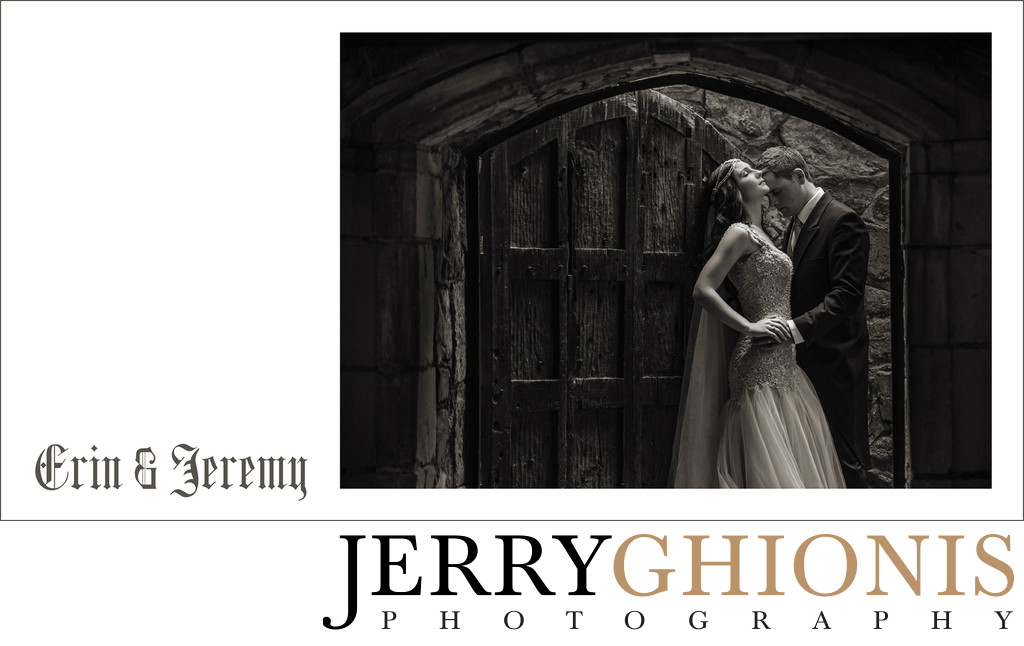 Castle Wedding Album of Erin & Jeremy