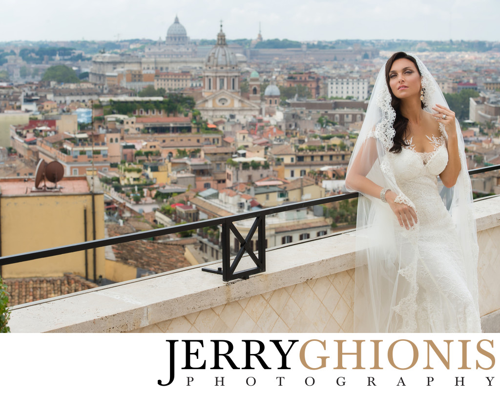Wedding Photography in Rome, Italy