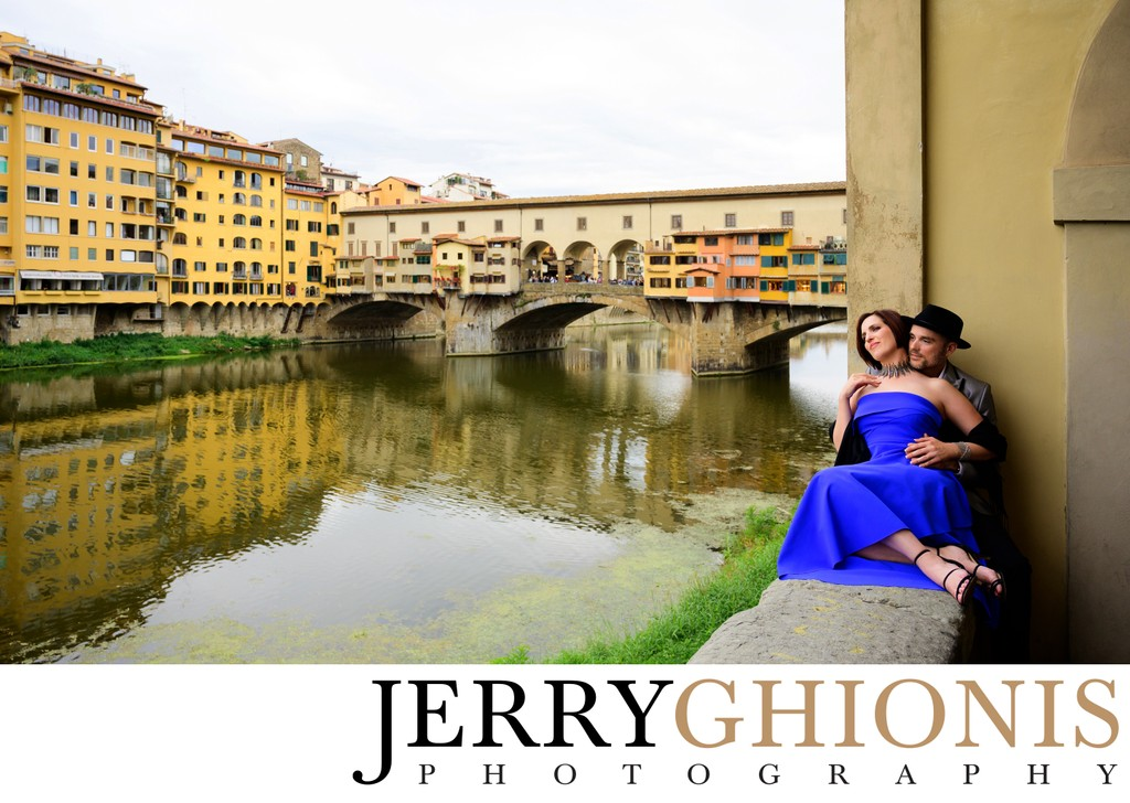Florence Italy Engagement Shoot