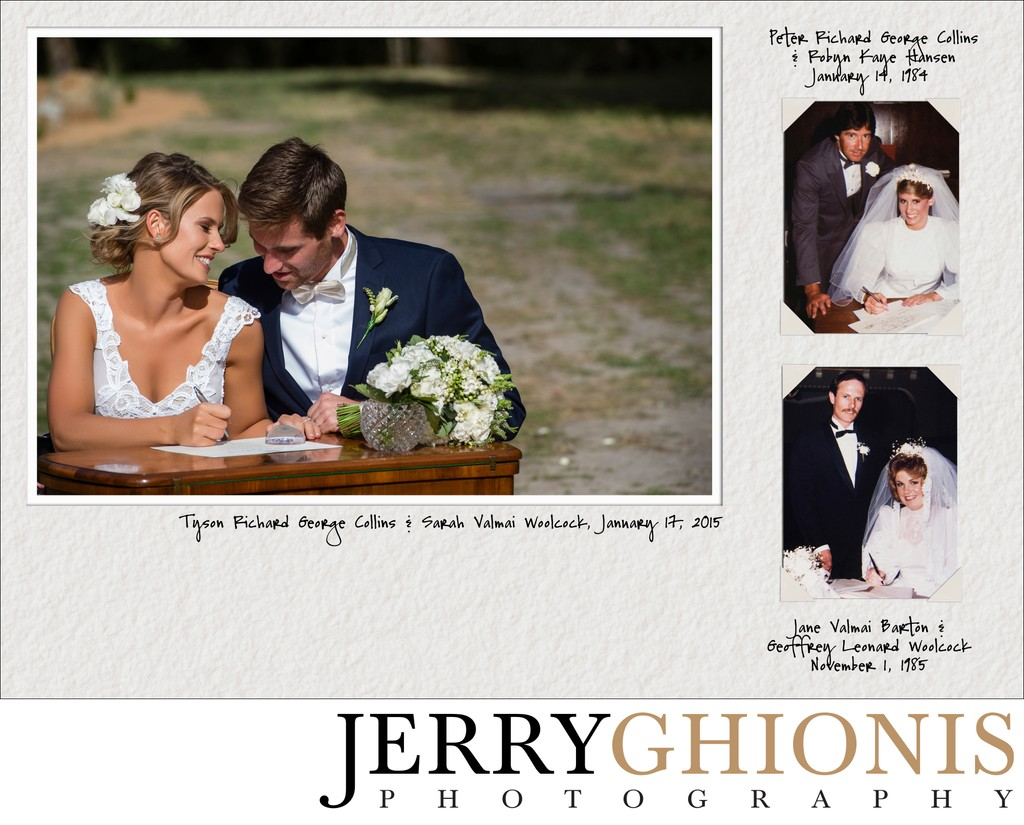 Heirloom Wedding Album
