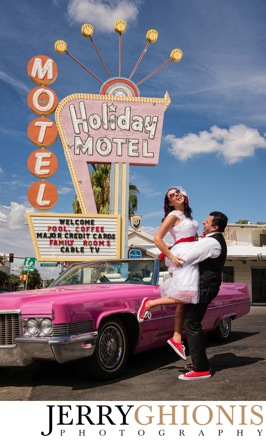 Neon Boneyard Las Vegas Wedding Photographer