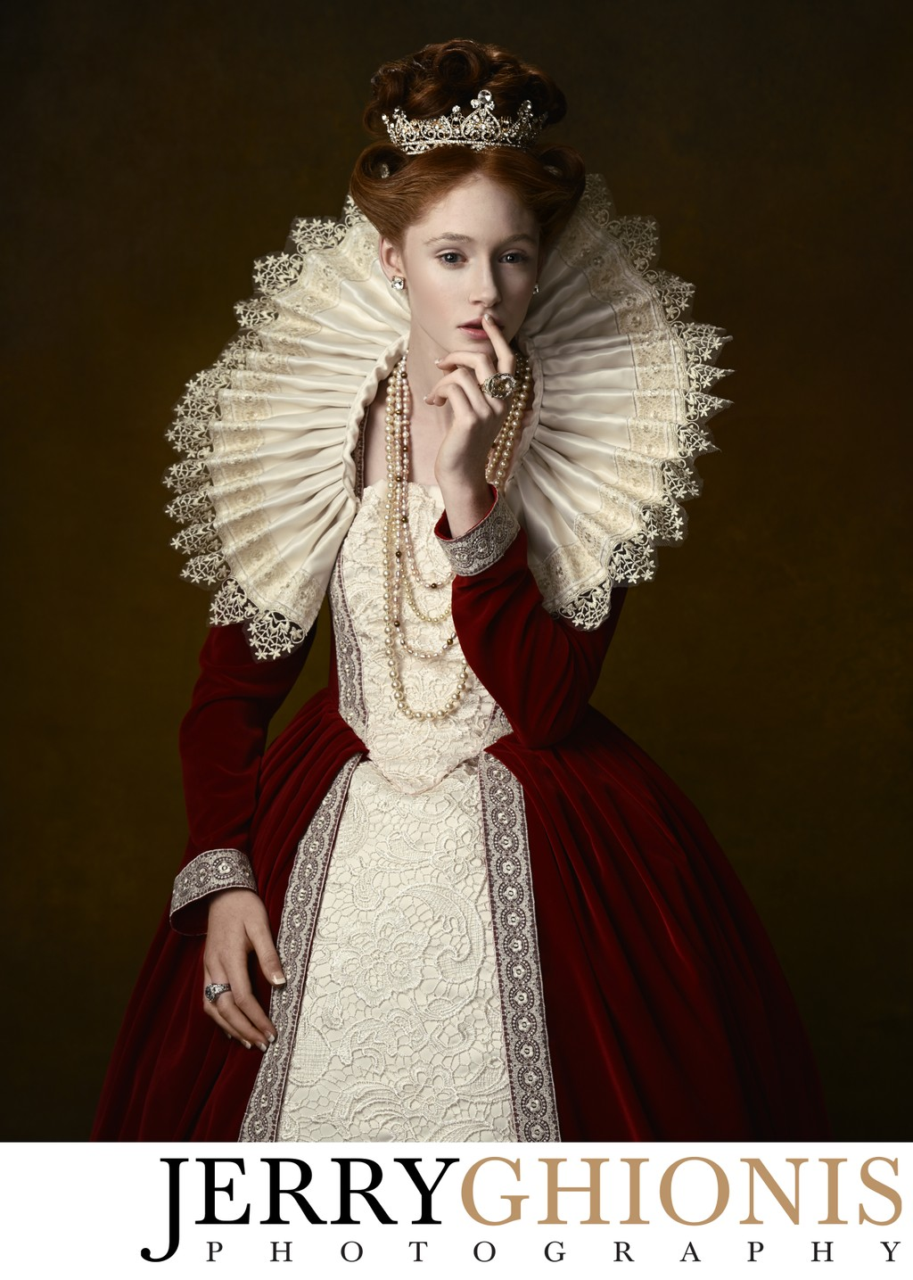Elizabethan Style Portrait Session