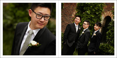Groom and Guys in Album