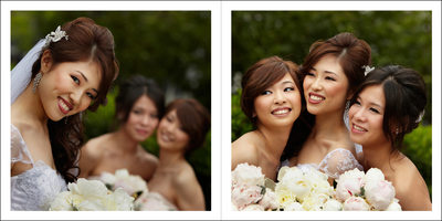 Classic Portraits with Bridesmaids