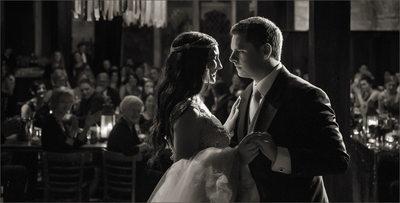 First Dance at Castle Wedding
