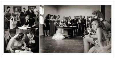 Signing the Marriage Certificate During the Ceremony