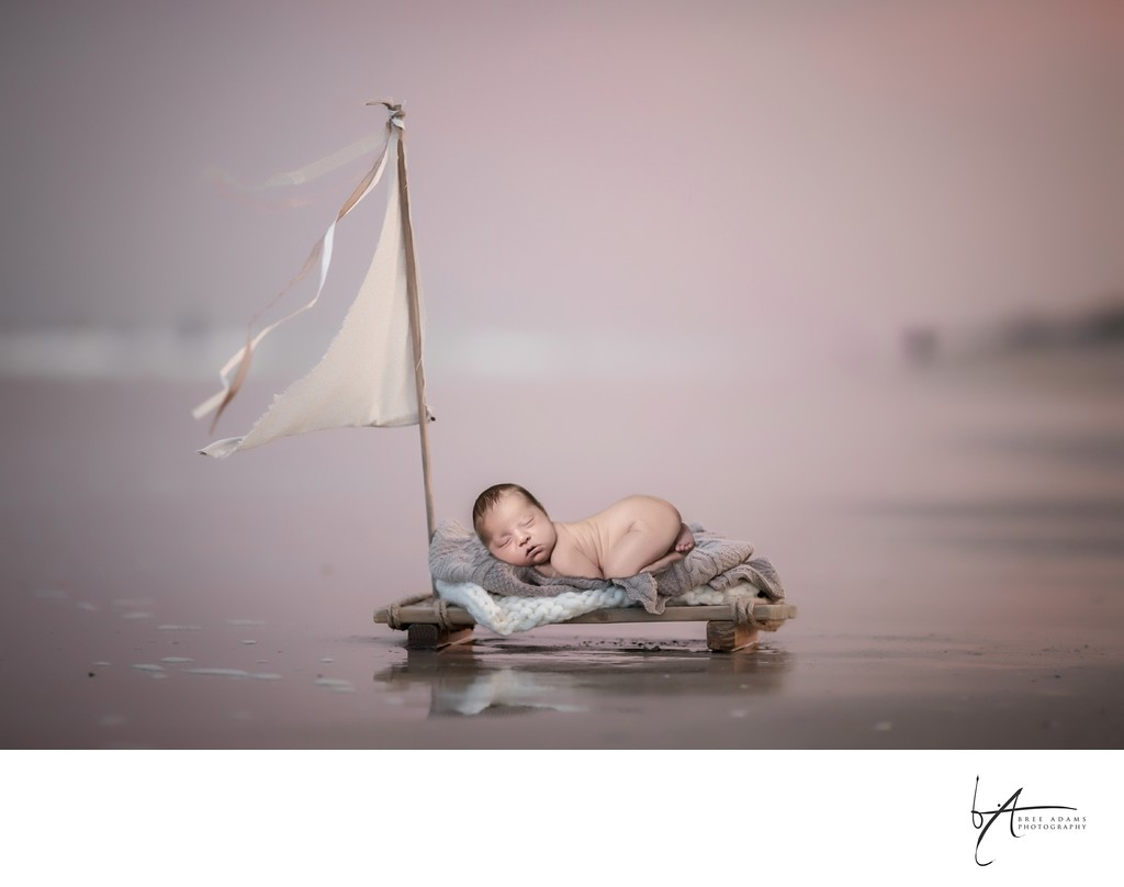 newborn photo composites